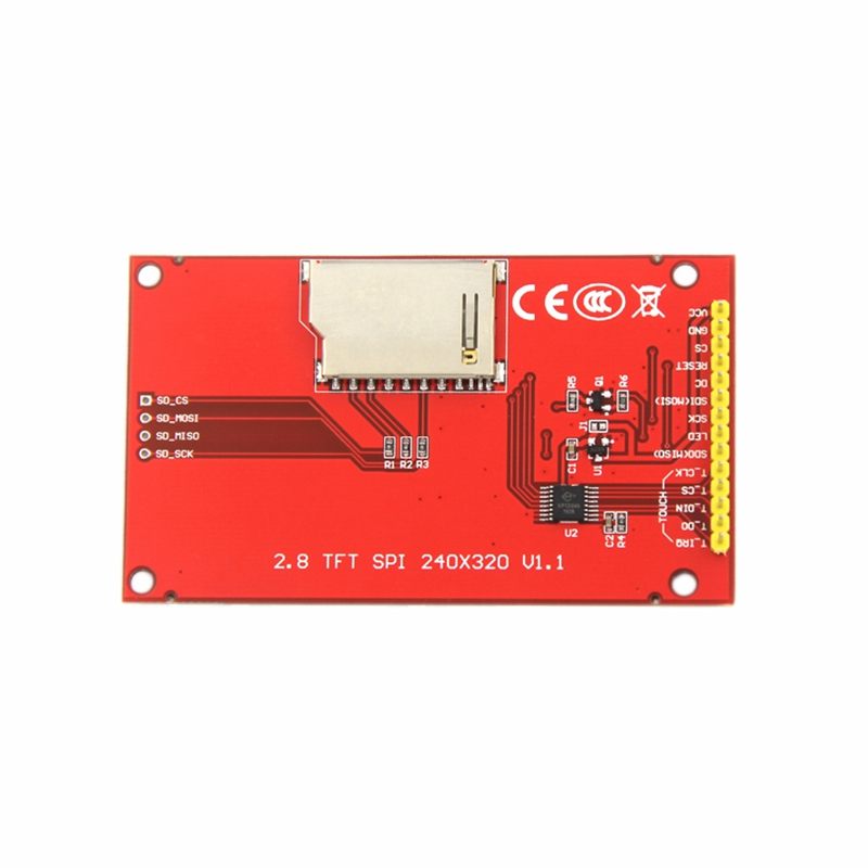 2.8 Inch 240x320 SPI Serial TFT LCD Module Display Screen Without Press Panel Driver IC ILI9341 For MCU