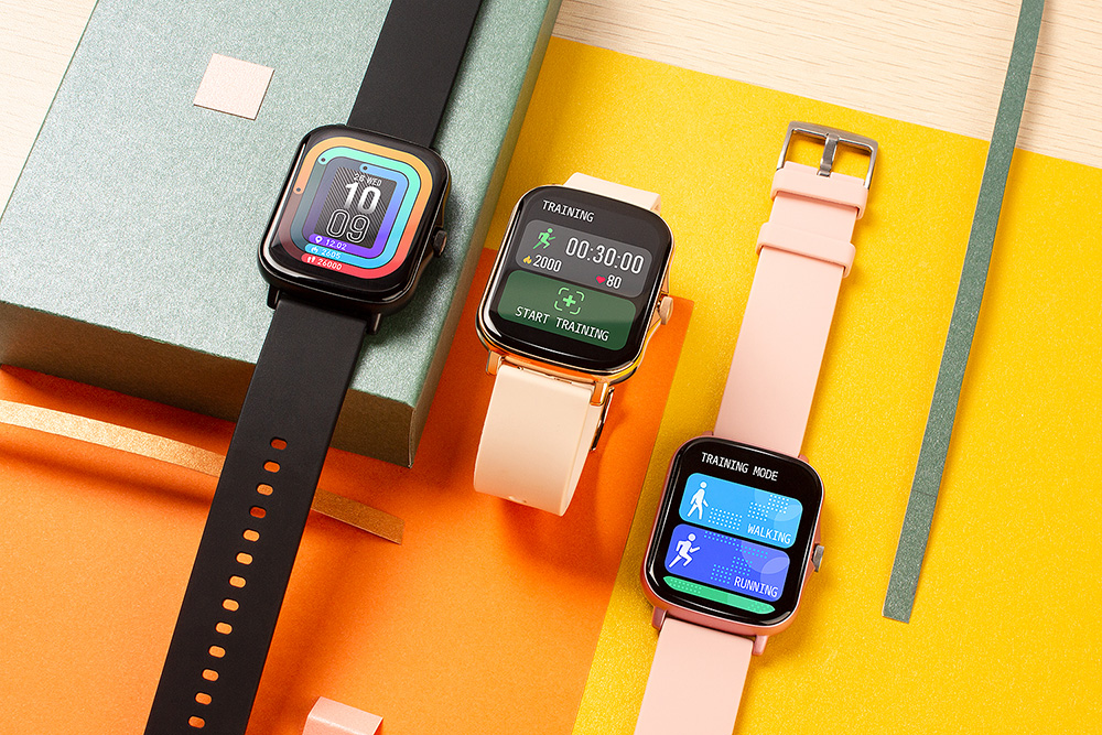 H1abfa34a33b5474fb9544454603da7f7c COLMI P8 Plus 1.69 inch 2021 Smart Watch Men Full Touch Fitness Tracker IP67 waterproof Women GTS 2 Smartwatch for Xiaomi phone