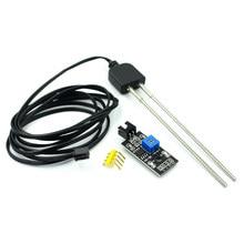 Soil Moisture Sensor and Soil Detector Module Soil Moisture Test Soil Humidity Test Corrosion Resistance Probe for Arduino