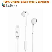 USB Type C Earphones Original Letv Leeco CDLA Earphone HiFi Chip Inbedded Continual Digital Lossless Audio For le 2 2 3 Pro Max2