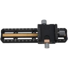 Rise macro 포커싱 레일 슬라이더 arca swiss fit clamp 클로즈업 촬영 헤드 삼각대 용 퀵 릴리스 플레이트 MR 180 180mm