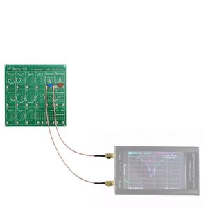 Image 3 - Kit de demostración RF NanoVNA RF Placa de comprobador filtro atenuador para NanoVNA Vector red antena del analizador/espectro