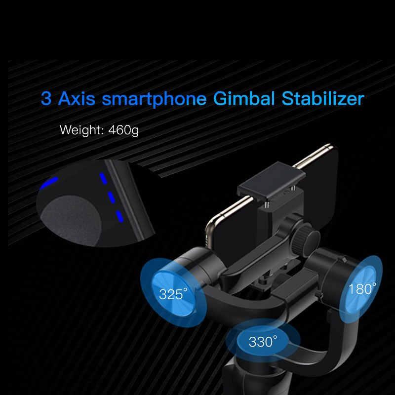 Zwn S5B Phiên Bản Nâng Cấp 3 Trục Gimbal Ổn Định W/Tập Trung Kéo & Zoom Cho Iphone XS XR X 8 Plus 7 Samsung Camera Hành Động