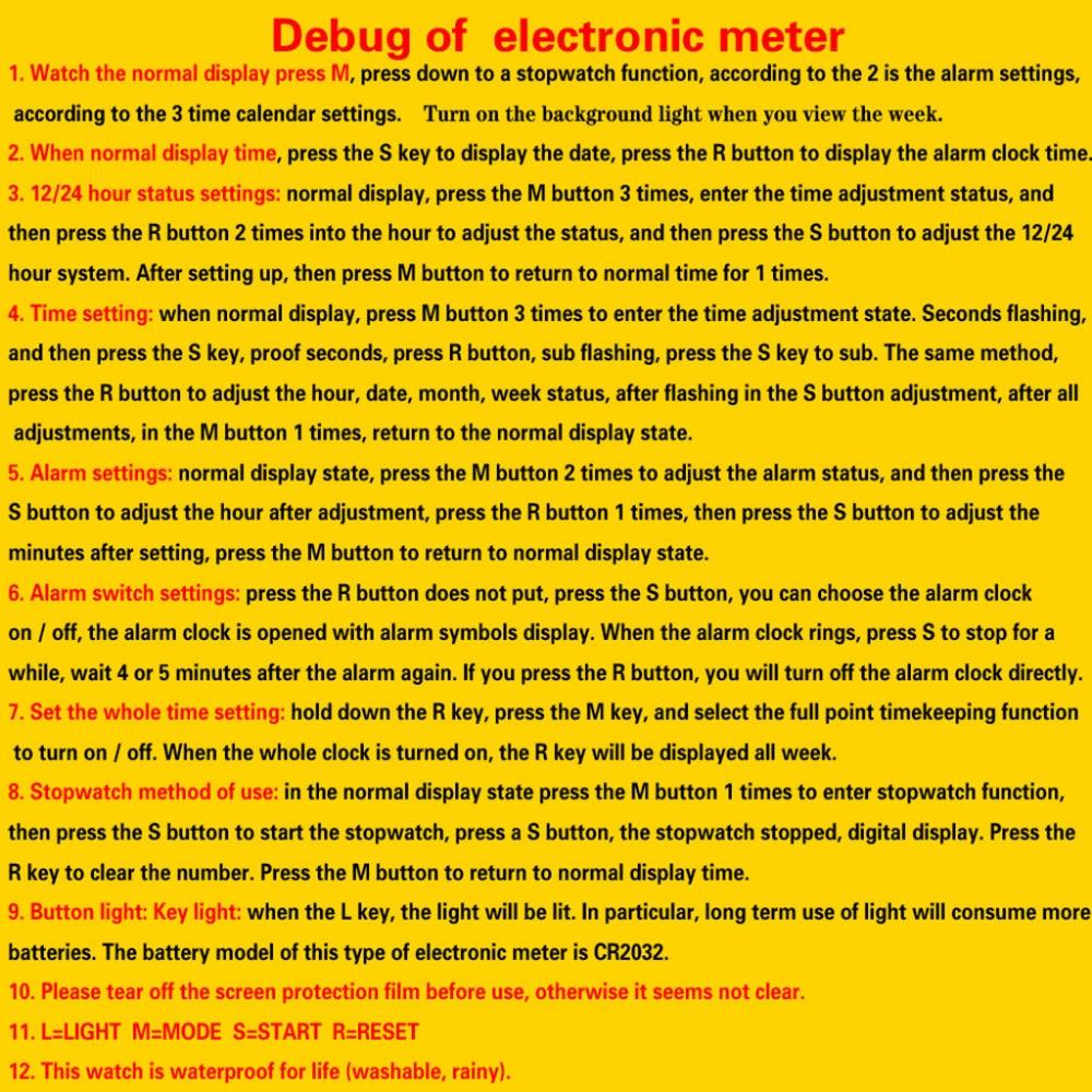 H1ac04cbdd3f849fd866279e89ea0ff43U HONHX Casual Sport Luxury Mens Digital LED Watch Date Sport Men Outdoor Electronic Watchelogio digital New Fashion Wristwatch #D