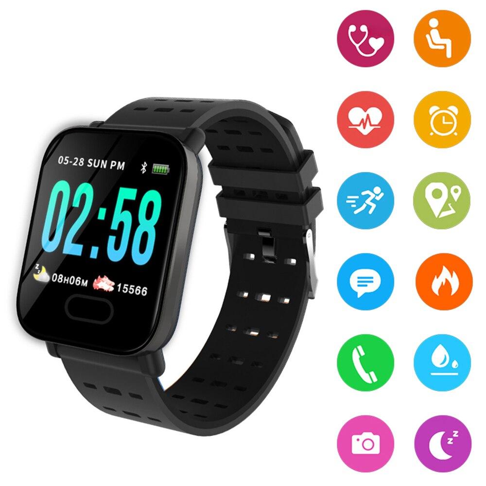 Digital Blood Pressure Monitor Tonometer On Wrist Medical Equipment Portable Waterproof Measuring Pressure Smart Wrist Watch