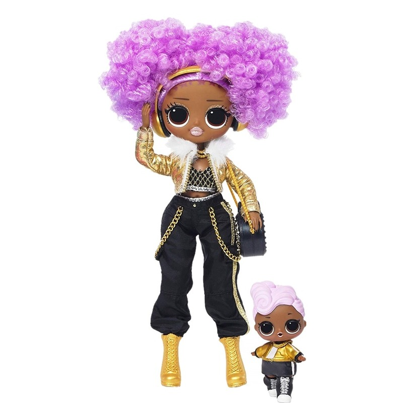 LOL. Surprise! O.m.g. Winter Disco 24K D.j. Fashion Doll & Sister Girls Toys