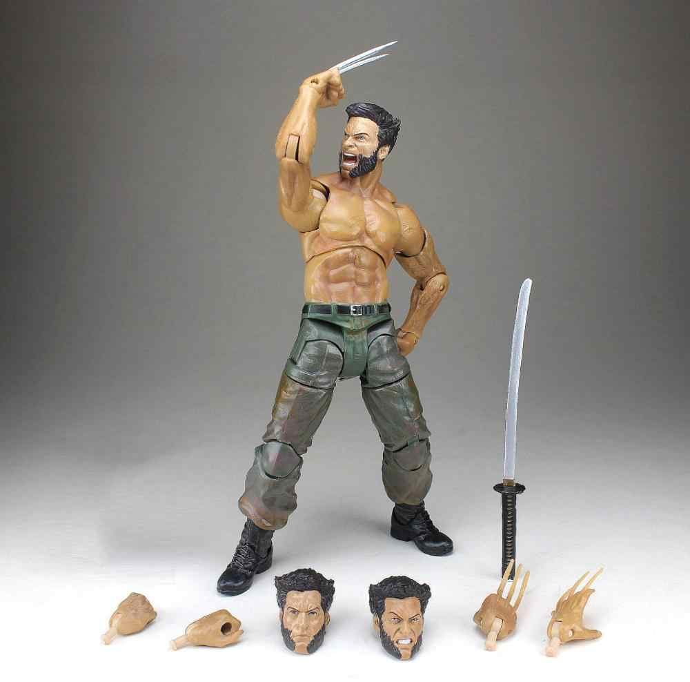 "Marvel Diamond Select Wolverine Movie Logan 7 ""Figura di Azione Allentata"