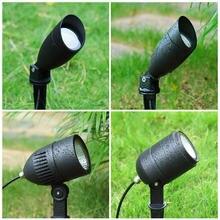 Современный уличный светильник прожектор ландшафтное освещение