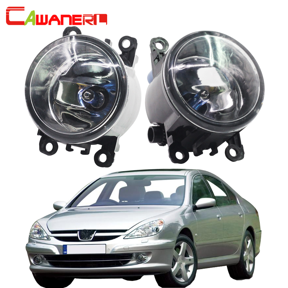Cawanerl 2 X H11 100W Car Light Styling Halogen Fog Light Daytime Running Lamp DRL 12V For <font><b>Peugeot</b></font> <font><b>607</b></font> (9D, 9U) Saloon 2000-2006 image
