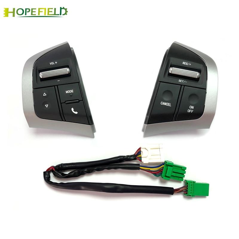 Bouton multifonction de médias Audio de commutateur de régulateur de vitesse de bouton de volant de voiture pour Isuzu d-max DMAX pour Chevrolet Dmax d-max