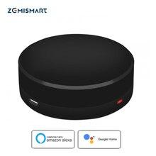 Zemismart IR Bridge Google Home Alexa Echo Control do klimatyzacji na podczerwień wentylator TV uniwersalny pilot zdalnego sterowania