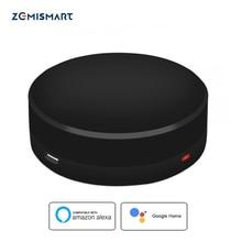 Zemismart ir bridge google 홈 alexa echo 제어 적외선 공기 상태 팬 tv 범용 원격 제어