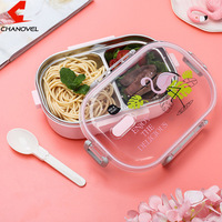 Japanese Portable Lunch Box For Kids School 304 Stainless Steel Food Container Box With Lid Lunch Set ALT0117 3