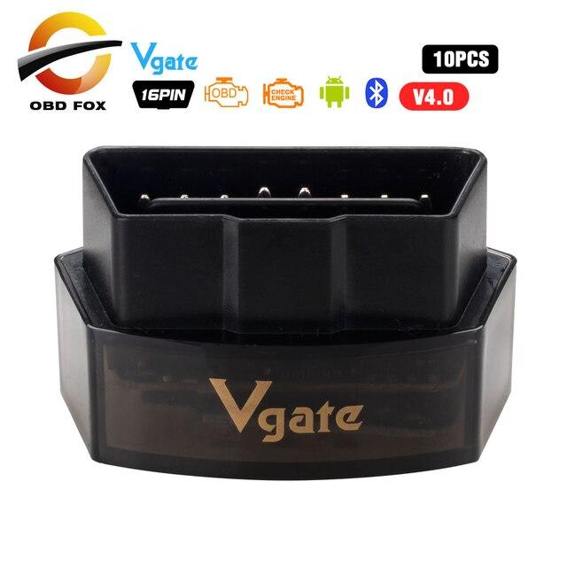 10 teile/los Vgate iCar Pro Bluetooth 4.0/3.0/WIFI OBD2 Scanner Für Android/IOS Ulme 327 Auto diagnose Werkzeug ELM327 V 1,5 Code Reader