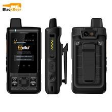 UNIWA B8000 אנדרואיד 8.1 מכשיר קשר IP68 עמיד למים MobilePhone MT6739 4G LTE Quad Core Smartphone POC Zello נייד 4000mAh