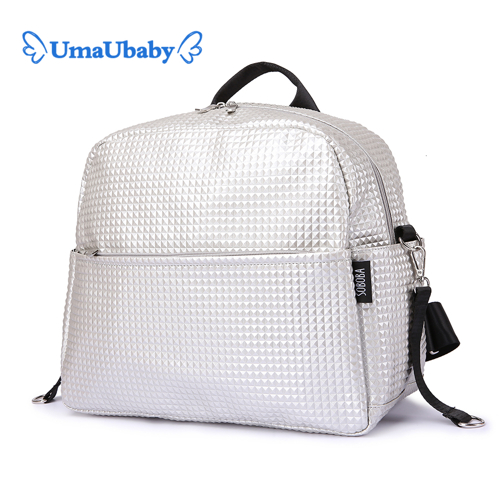 Soboba Mommy Maternity Diaper Bags Solid Fashion Large Capacity Women Nursing Bag For Baby Care Stylish Outdoor Mommy Bags