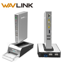 Алюминиевая Универсальная док станция USB 3,0 с корпусом HDD и SSD, двойной видеодисплей с поддержкой HDMI/VGA/DVI, 2048*1152 гигабитная Lan