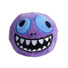Monster Emoji Funny Plush Toys Embroidery Kids Squeezable Slow Rising Dolls Halloween Christmas Gift
