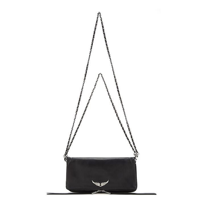 New Women Bags 2020 Women's One-shoulder Messenger Bag Fashion Chain(2 Chains) Leather Handbag