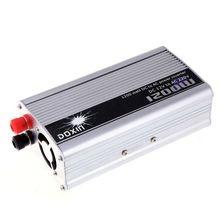 цены Hot Sales 20X(Doxin 1200W Watt 12V DC to 220V AC Power Inverter Portable Car Charger 9Q4)