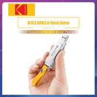 Kodak K133 stylo lecteur USB 3.0 métal clé USB 16GB 32GB 64GB clé USB 3.1 128GB U disque 256GB clé USB