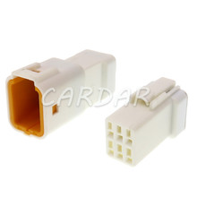 1 Set 6 Pin 06R-JWPF-VSLE 06T-JWPF-VSLE Electrical Auto Sealed Connector For Wire Connector Socket
