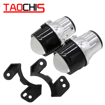 Taochis 2.5 inch Bi-Xenon projector lens xenon lamp fog lamp assembly for JEEP WRANGLER H11 Bulbs with High Low Beam Waterproof