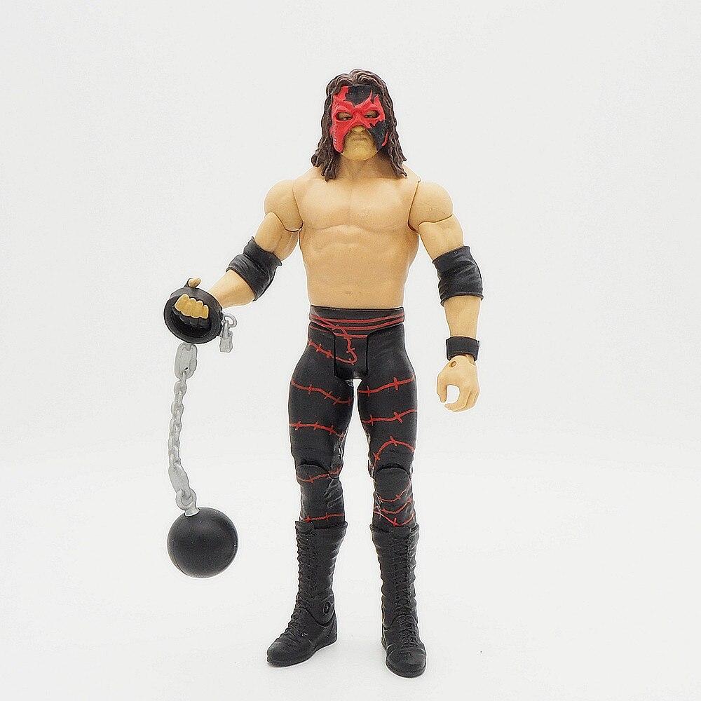 Wrestling gladiators Action figures Wrestler SuperHeroe Kids Gift Toys Kane Mask