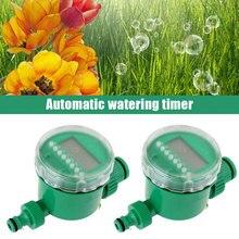 ЖК-экран дисплей таймер автоматический полив растение орошение Таймер воды сад цветок зеленый частотное устройство
