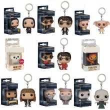 Chaveiro do filme de ação, harry potter, brinquedos, hermion, fawres, hedwig, lord, voldemort, dumbledore, hedwig, fawps, dobby collection(China)