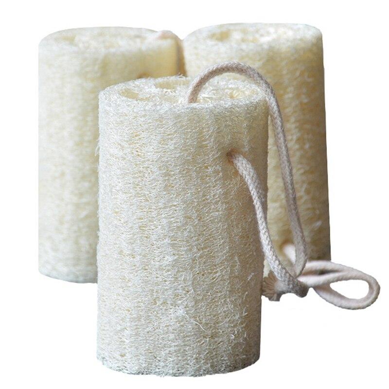 Natural Shower Loofah Sponge  Exfoliating Shower Gel Body Scrub Natural SPA Beauty Bath Sponge Body Foam Bubble Rub Rub Off Dead|Cleaning Cloths| |  - title=