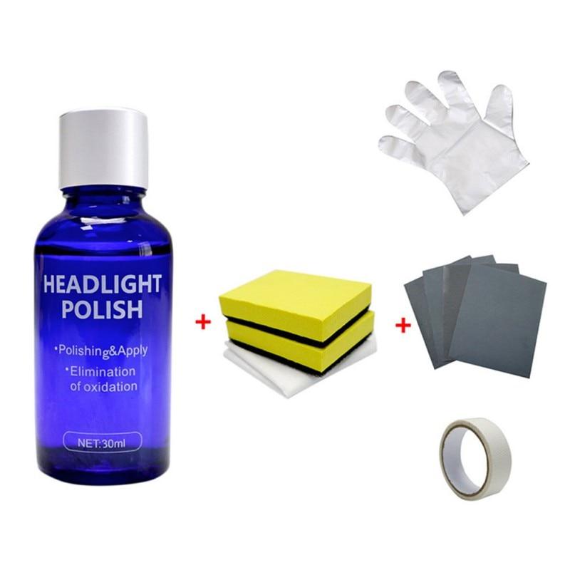 Car Headlights Oxidation Liquid Repair Agent Ceramic Coat Super Hydrophobic Glass Coating Polishing Coating Liquid Repair Tool