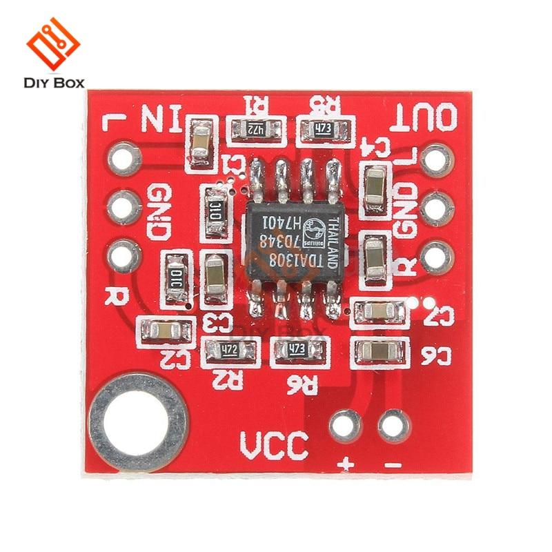 Mini TDA1308 Headphone power Amplifier Board module Audio Preamplifier 3V-6V Class A Class B Stereo Sound Board Low Power AMP