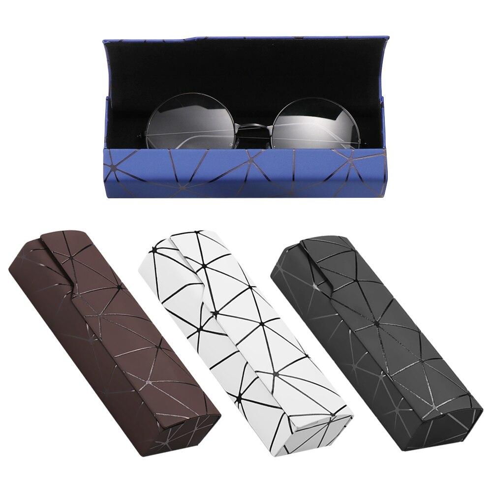 Gafas de sol de imitación de madera para hombre y mujer, estuche de gran oferta Unisex, a la moda, portátil, caja de anteojos cuadrada hecha a mano, 1 unidad