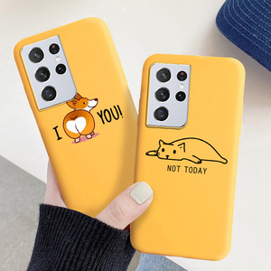 Image 4 - Cartoon Bear Soft Case For Samsung S21 Ultra Case For Samsung S20 FE S21 Plus Note 20 10 Lite Note20 Ultra 8 9 Cases Cover Coque