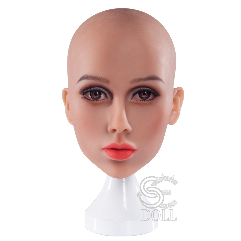 Love Doll Head Stand Holder White Mannequin Head With Stand For TPE Silicone Sex Doll Accessories Support Holder