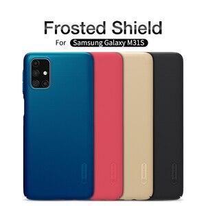 Image 1 - Custodia Nillkin per Samsung Galaxy M31S M21s M51 M31 Cover Super glassata Shield Hard PC Matte Protector Cover posteriore per Samsung F41