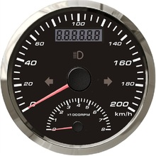 85mm GPS Speedometer 200km/h With Tachometer 0 8000RPM