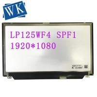 Free Shipping LP125WF4 SPF1 LP125WF4 SPF1 fit NV125FHM N41 B125HAN02.3 IPS LCD Screen 1920*1080 EDP 30 Pins|Laptop LCD Screen|   -