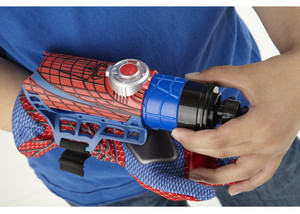 Image 5 - Spider man Cosplay mega blaster with gloves Launchers PVC Action Figure Collection Model Toy (Not Spider Shot Web Fluid no box)
