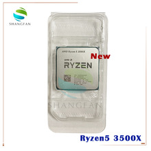 CPU Processor 3500x3.6-Ghz Amd Ryzen AM4 Six-Core 7NM 65W New L3--32m 100-000000158-Socket