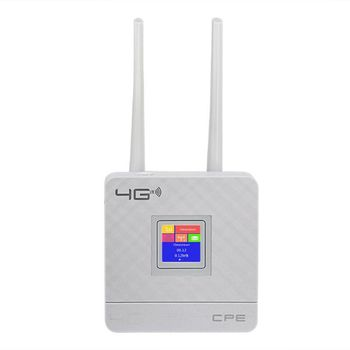 Unlocked 150Mbps 4G LTE CPE Mobile WiFi Wireless Router With LAN Port SIM Slot With LED indicator display 4G WiFi router 2.4GHz