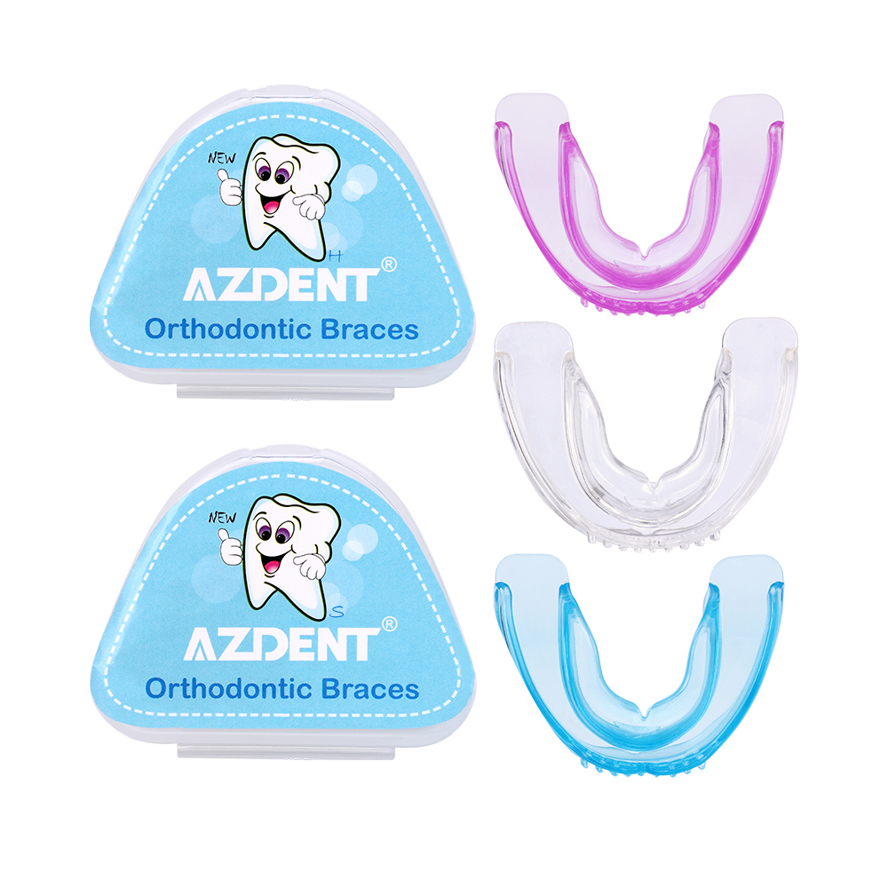Azdent New Orthodontic Braces Orthodontic Tooth Holder Prevention Molar Teeth Braces Silicone Alignment Trainer Teeth Alignment