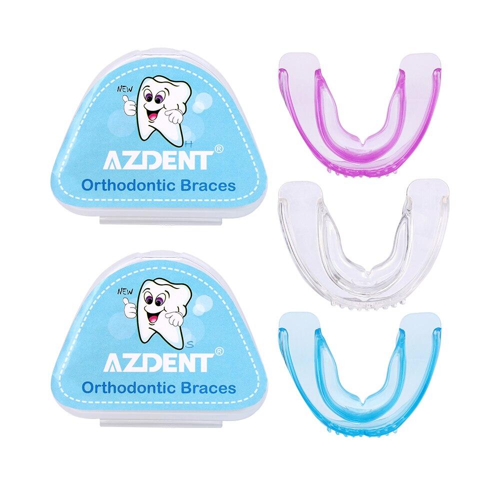 Azdent New Orthodontic Braces Orthodontic tooth holder Prevention Molar Teeth Braces Silicone Alignment Trainer Teeth Alignment