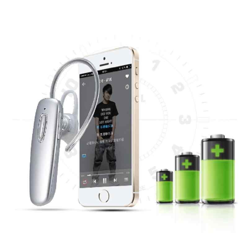 新しい CSR 4.1 チップの Bluetooth 4.1 イヤホンヘッドセット高音低音アクセントシングル耳ビジネスと Iphone 用マイク xiaomi