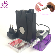 Portable Electric Nail Drill file Machine  Manicure Pedicure Kit Set Rechargeable Nail Drill Nail Art Nail Tools