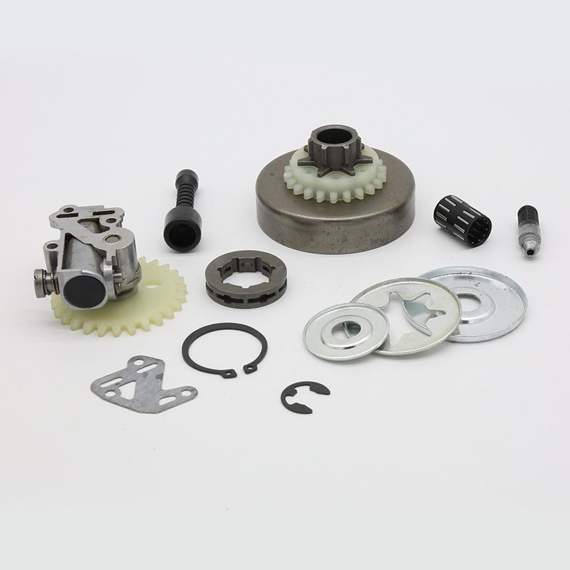 Tools : 3 8inch Clutch Drum Sprocket Rim Oil Pump Filter Line Washer Repair Kit For Stihl MS380 MS381 MS 038 381 380 Felling Chainsaw Parts