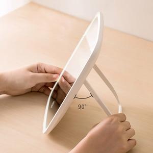 Image 5 - Miroir de maquillage Intelligent et pliable, Portable miroir de maquillage à Led, Led avec éclairage, miroir de vanité sensible au toucher