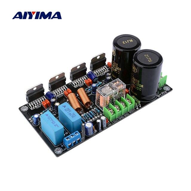 AIYIMA TDA7293 Eindversterker Audio Board 2.0 Stereo Geluid Versterkers Dubbele Parallelle Amplificador 160W * 2 Home Theater DIY