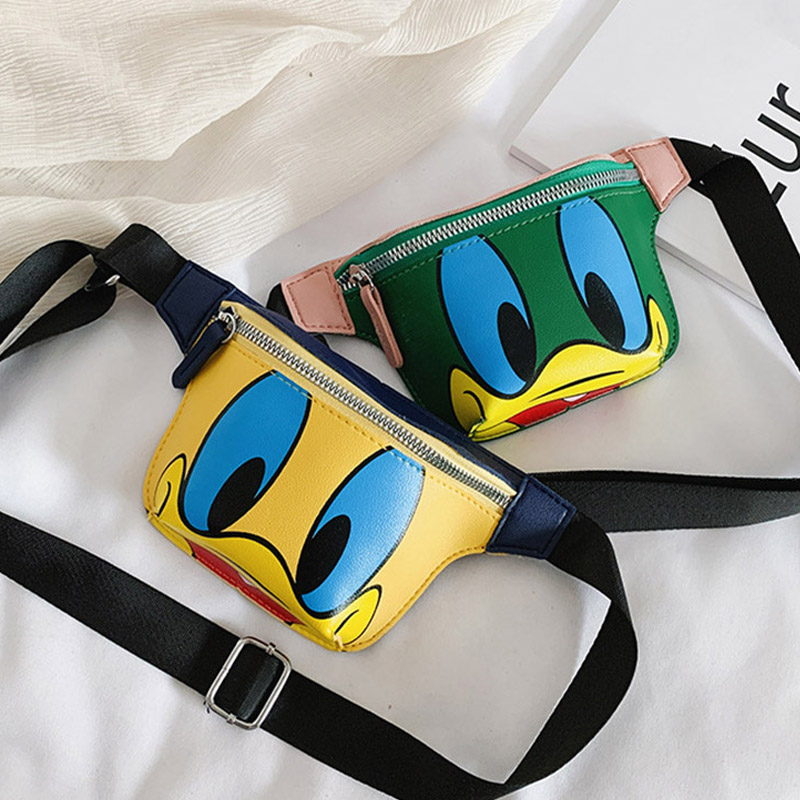 New Child Waist Bag Trend Boy And Girl Fanny Pack Belt Bags High Quality Mini Kid Waist Packs Cartoon Shoulder Messenger Bag